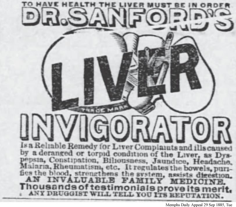 Dr Sanfords Liver Invigorator