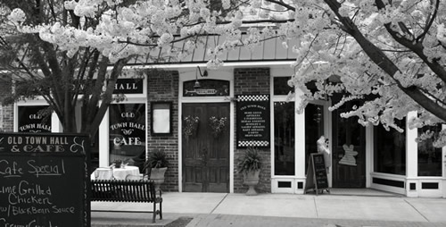 Old Town Hall Cafe on the Square