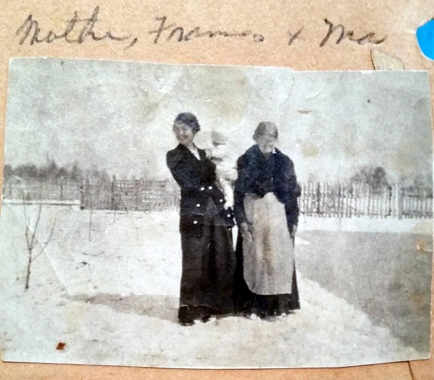 Mary Frances Piercy Nichols, Frances Nichols Howard, Ma Nichols