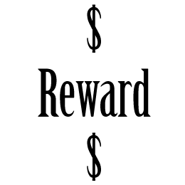 $100 Reward for Runaway