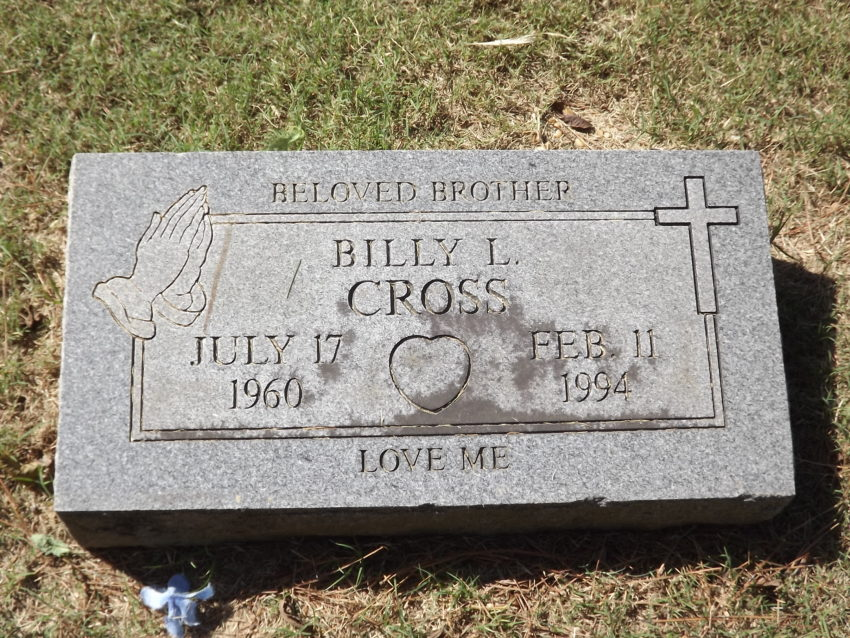 Billy Lewis Cross