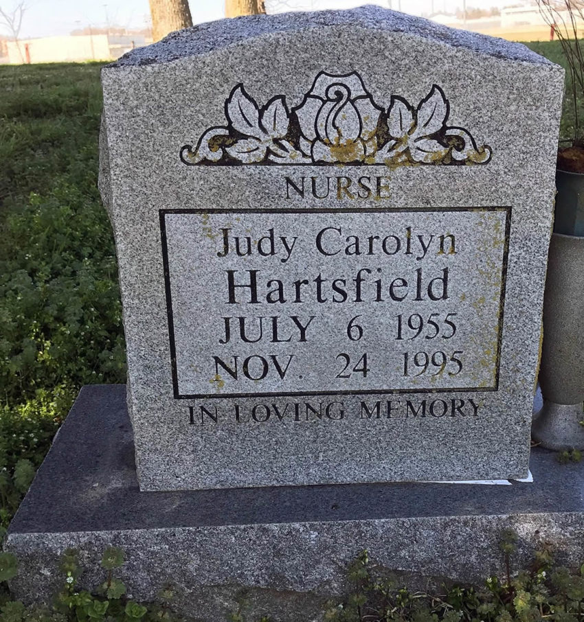 Judy Carolyn Hartsfield 1955-1995