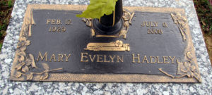 Hadley, Mary Evelyn Channell - Obituary