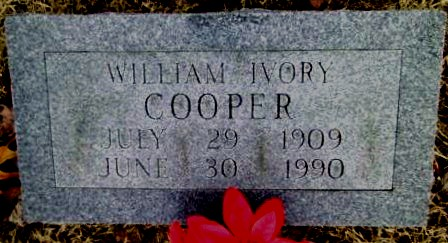 William Ivory Cooper 1909-1990