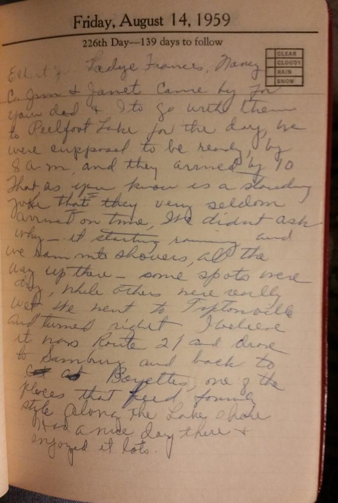 14 Aug 1959 - Mary Frances Nichols