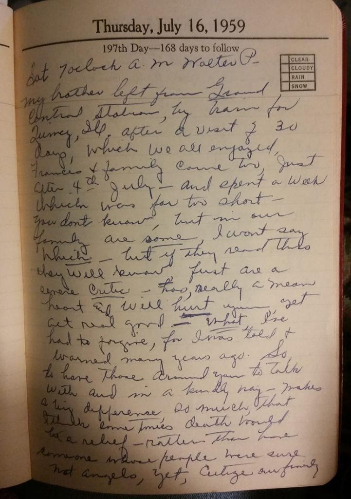 16 Jul 1959 - Mary Frances Nichols
