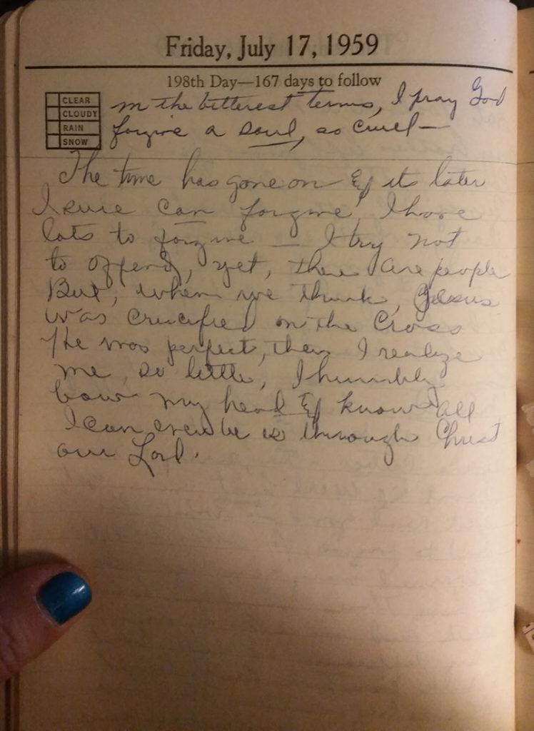 17 Jul 1959 - Mary Frances Nichols