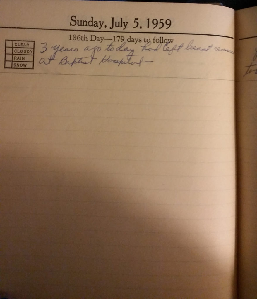 5 Jul 1959 - Mary Frances Nichols