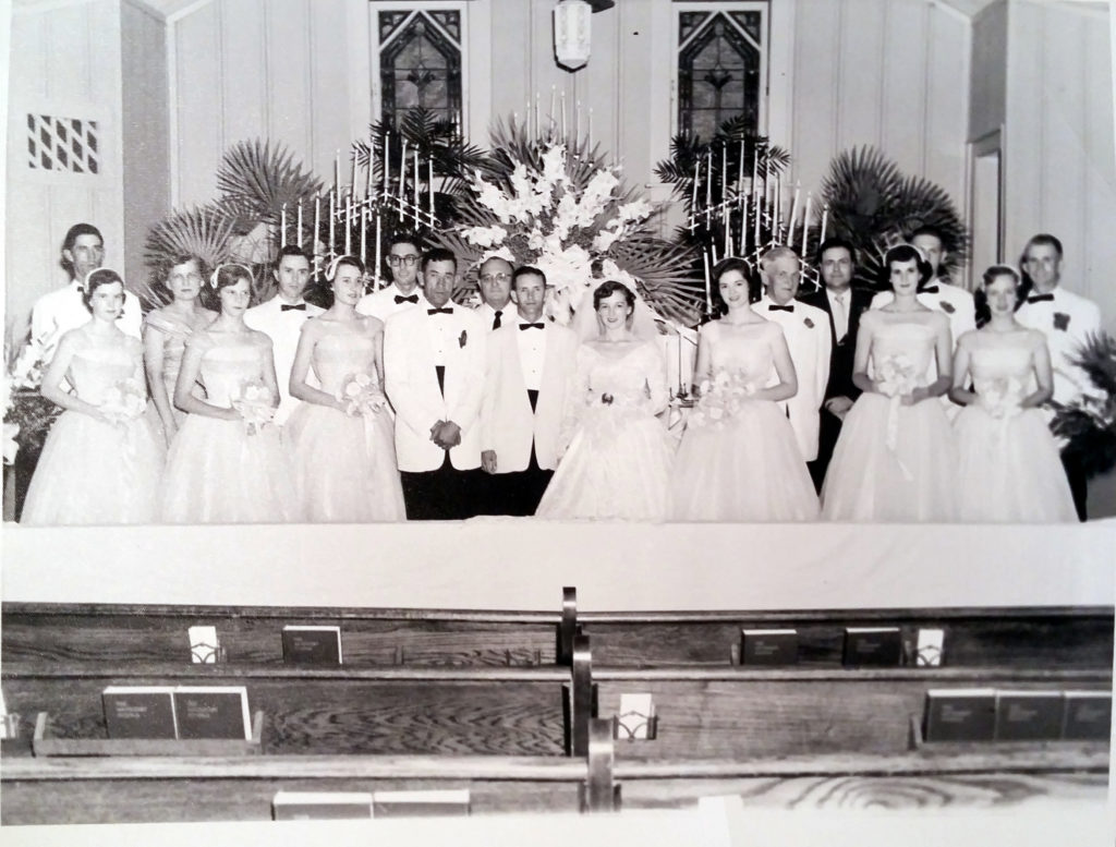 Jim Tom Williams and Margaret Nichols' wedding