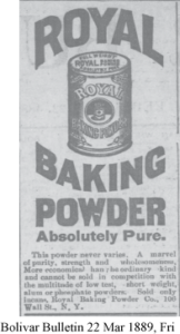 Boots, Baking Powder and Fans