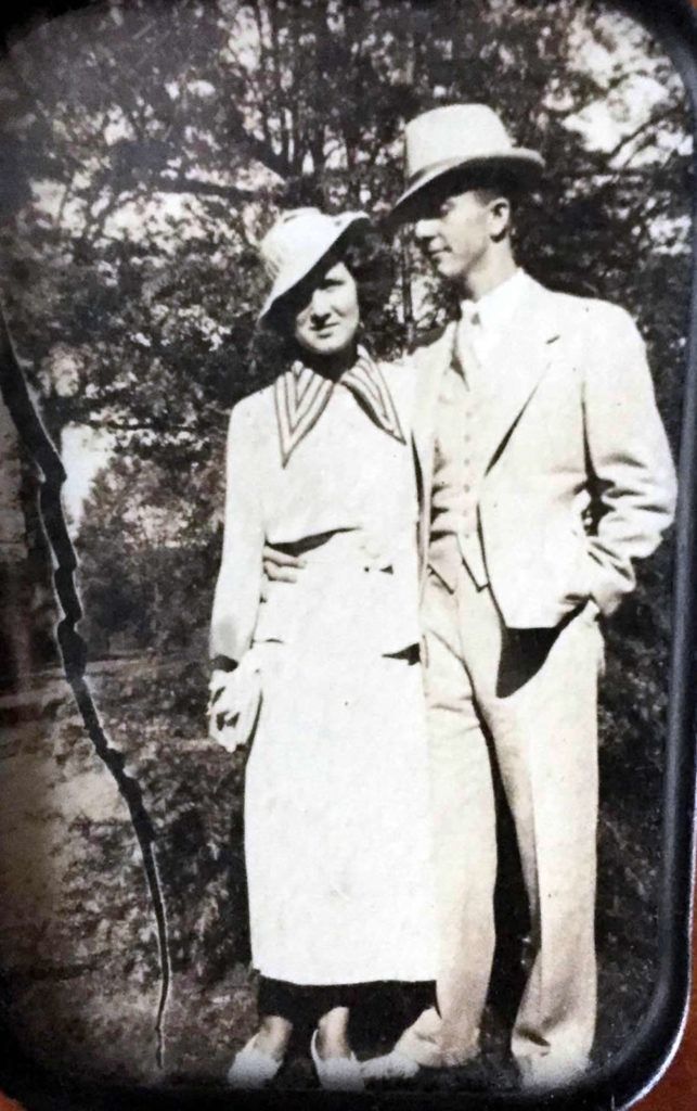Uncle Lake and Aunt Frances on their Wedding Day