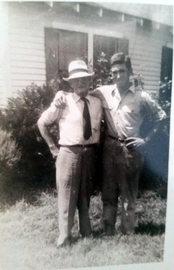 Elbert Royal Sr. and Richard Nichols