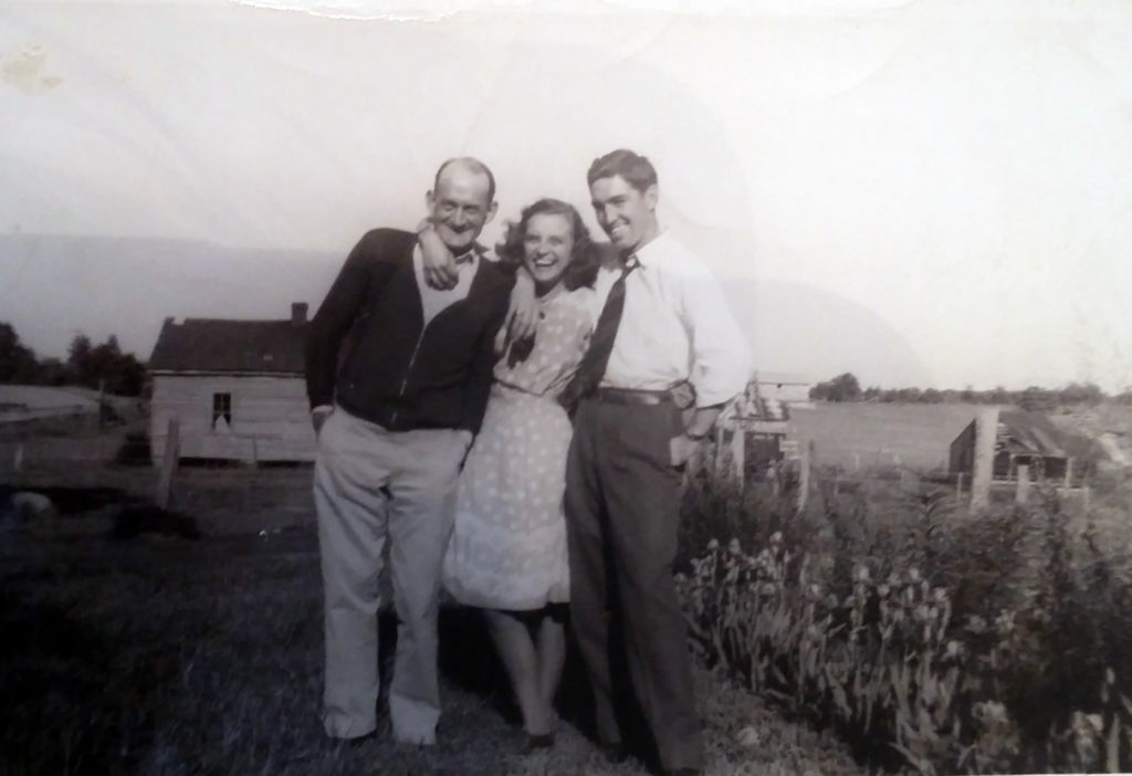 Walter Fletcher Piercy, Richard Thomas Nichols, Helen Doris Bomar Nichols