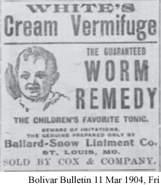 Advertisement for Medical Remedies